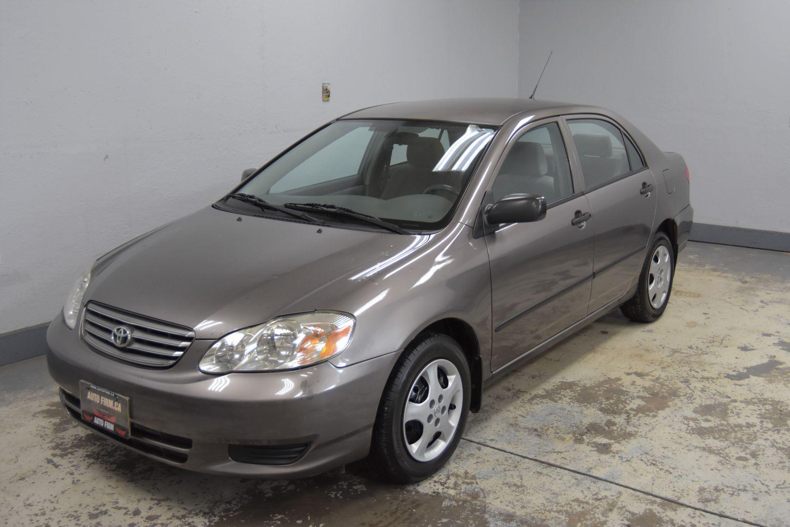 2003 Toyota Corolla Image