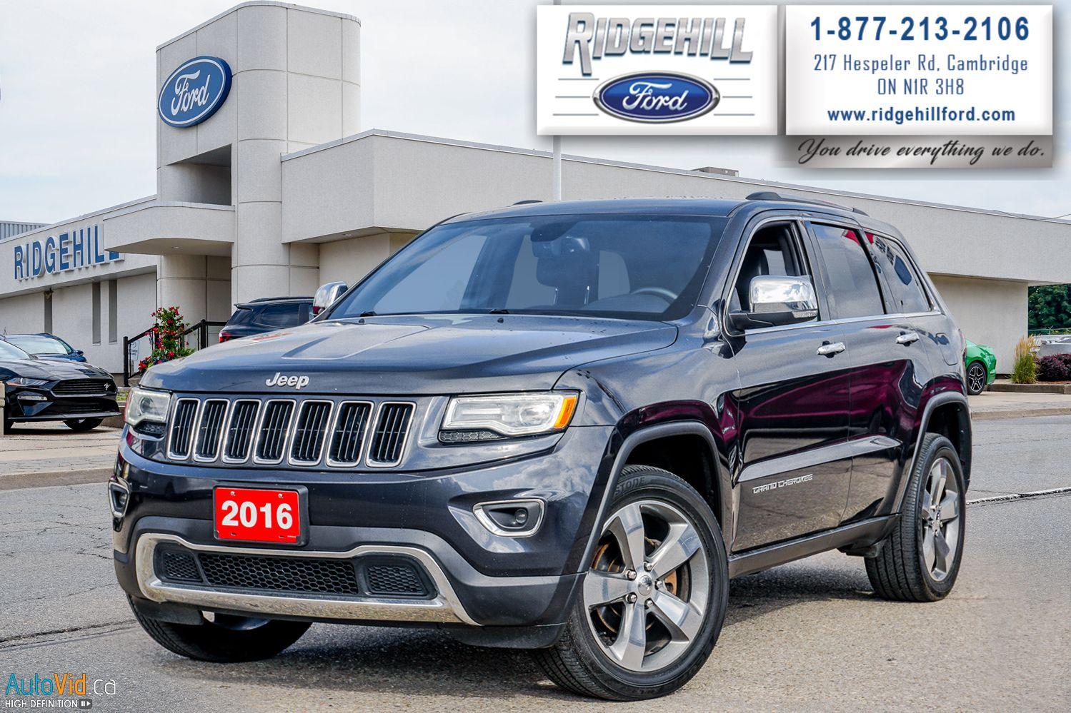 2016 Jeep Grand Cherokee Image