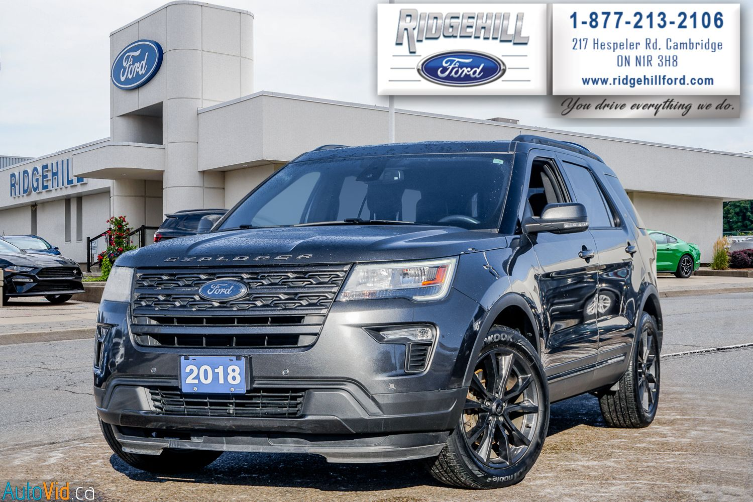 2018 Ford Explorer Image