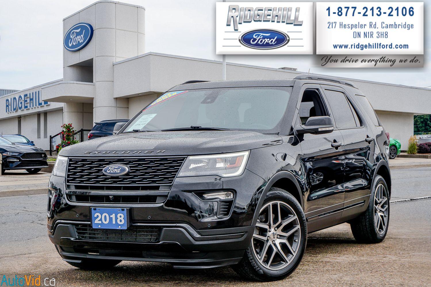 2018 Ford Explorer Image