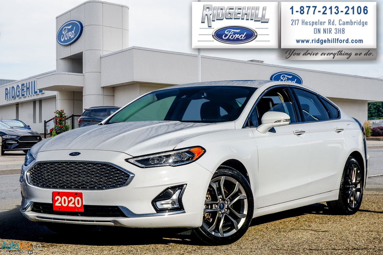 2020 Ford Fusion Hybrid Image