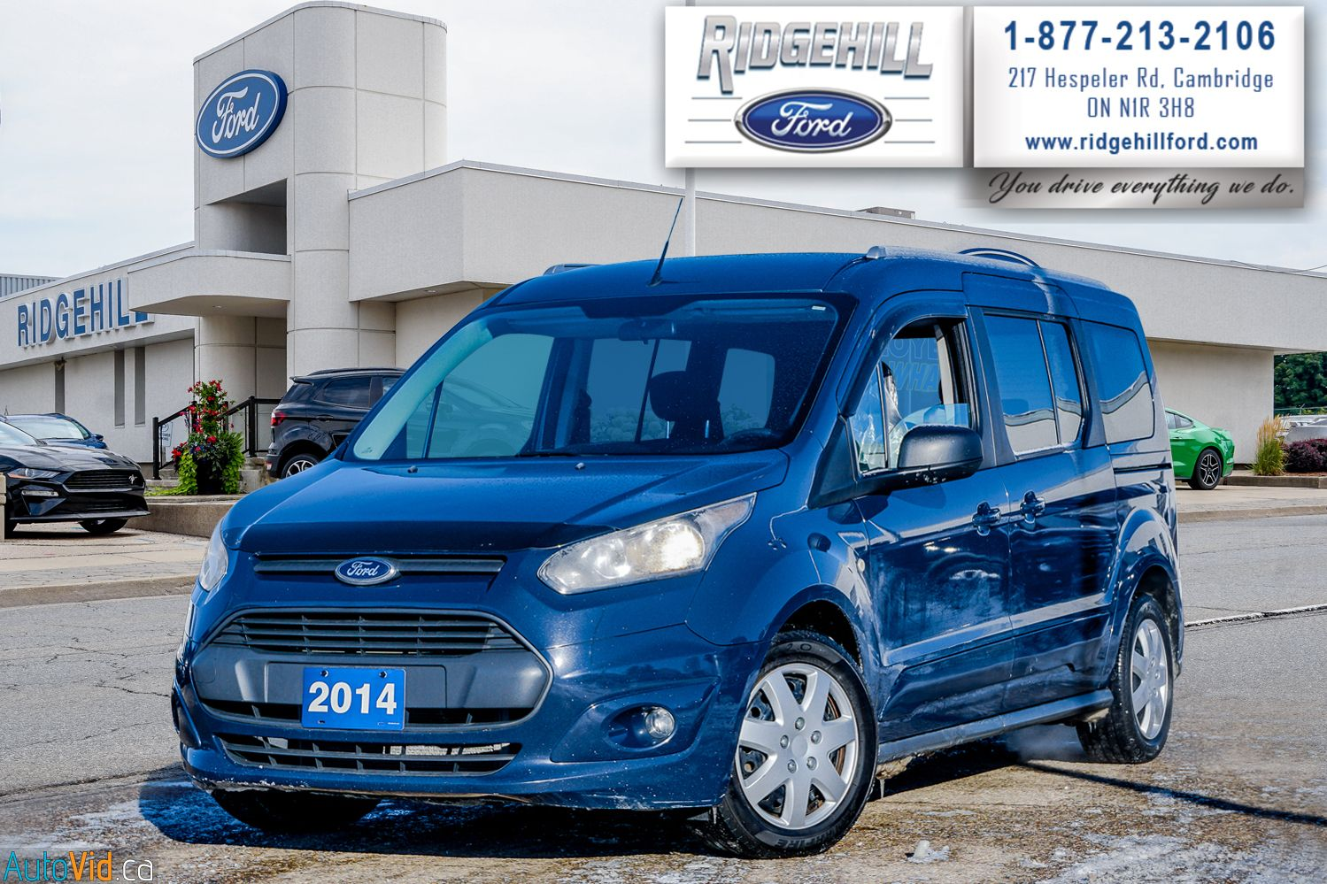 2014 Ford Transit Connect Passenger Wagon Image