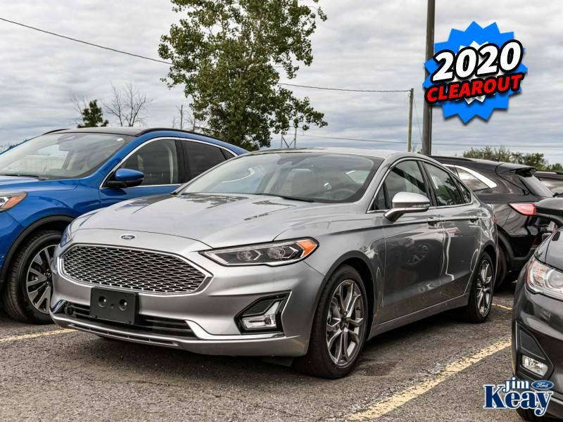 2020 Ford Fusion Image