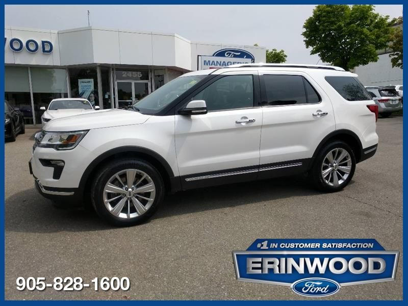 2019 Ford Explorer Limited - CPO 24M @2.9-20,000KM EXT WARRANTY