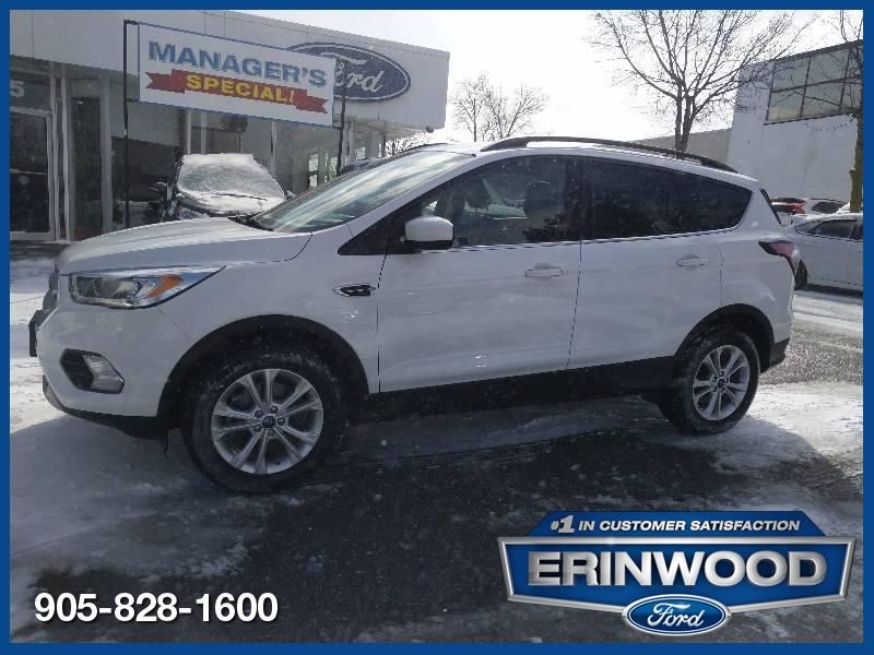 2018 Ford Escape SEL - CPO 60M @1.9-20,000KM EXT WARRANTY