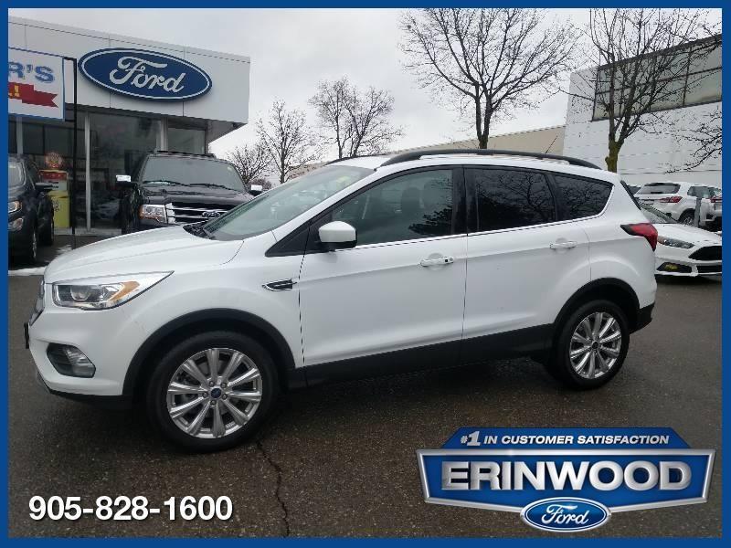 2019 Ford Escape SEL - CPO 60M @1.9-20,000KM EXT WARRANTY