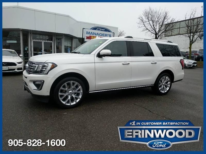 2018 Ford Expedition Limited - CPO 24M @2.9-20,000KM EXT WARRANTY