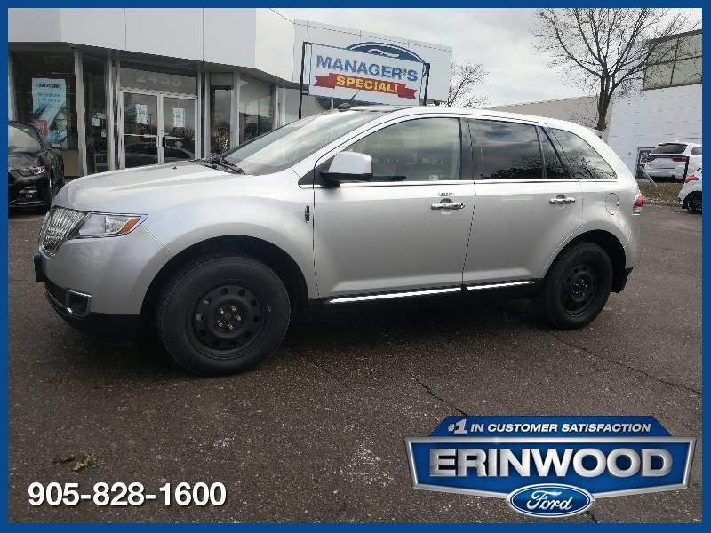 2011 Lincoln MKX AWD / Navi / Pano Roof / 2 Sets of Whls / 51K !!