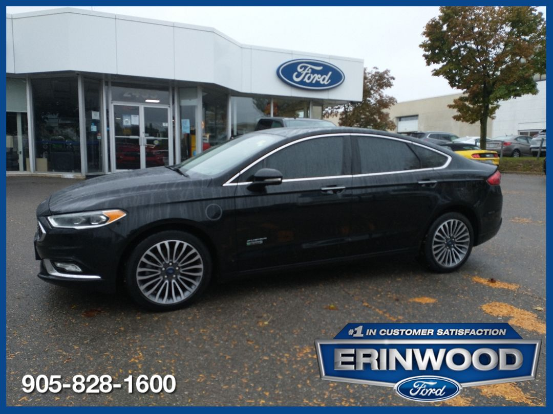 2018 Ford Fusion Image