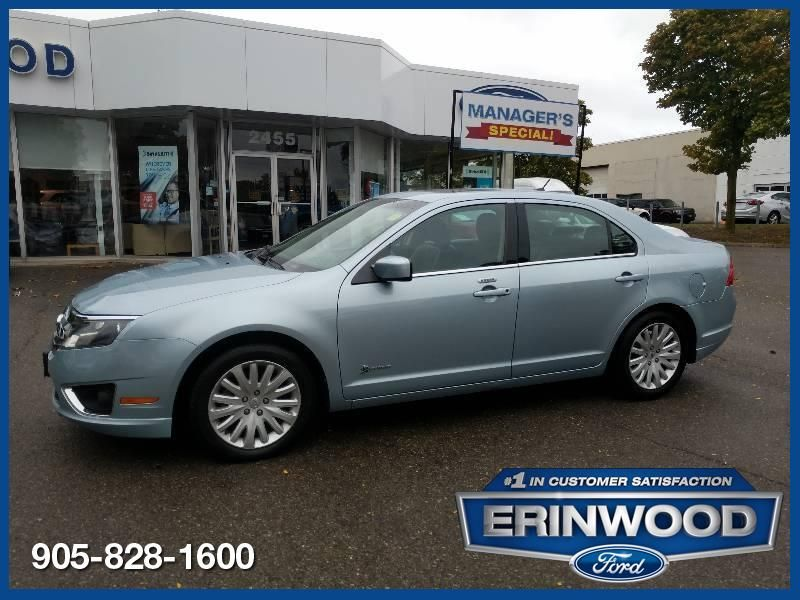 2010 Ford Fusion Hybrid - ROOF / LTHR / ALLOYS / LOW KMS !!!