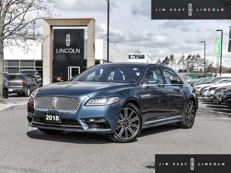 2018 Lincoln Continental Image
