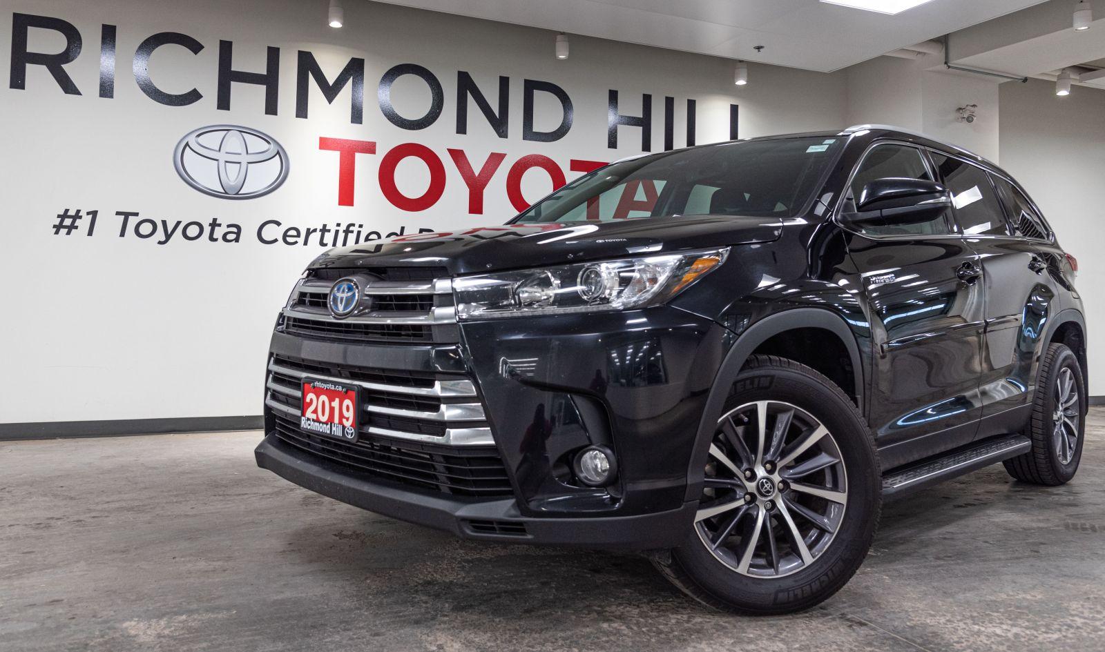 2019 Toyota Highlander Hybrid Image