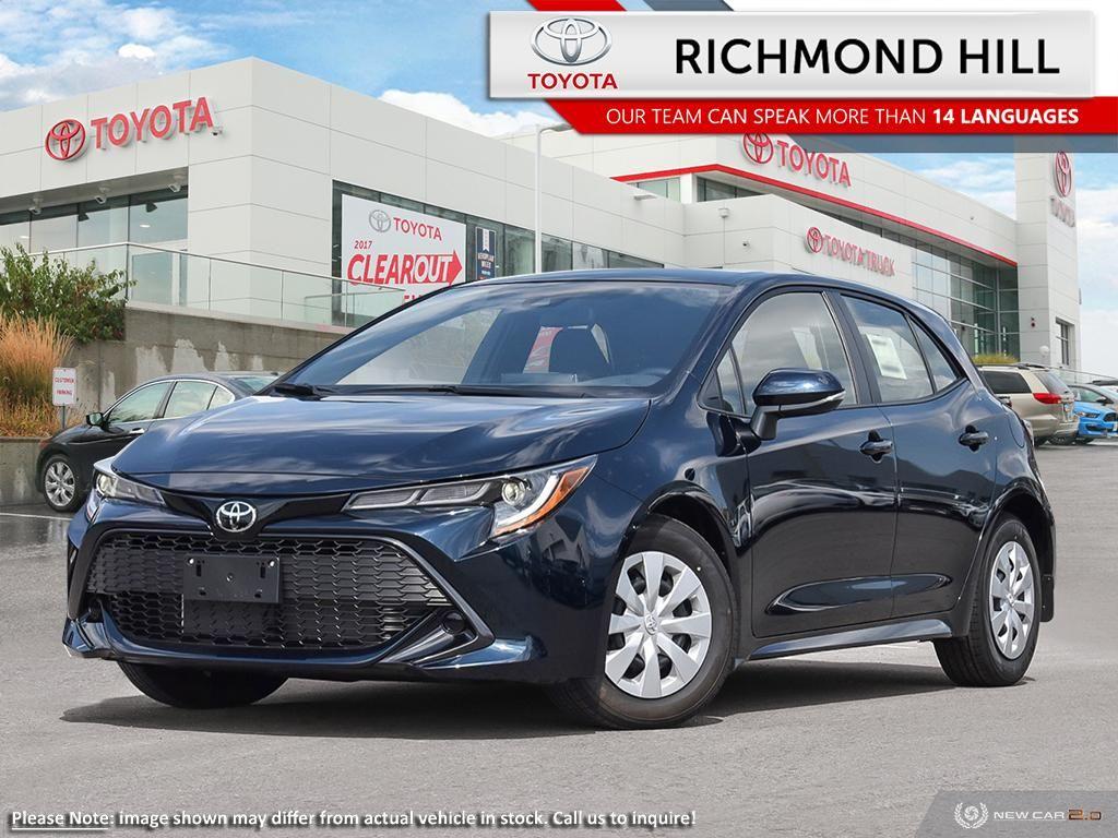 2020 Toyota Corolla Hatchback Image