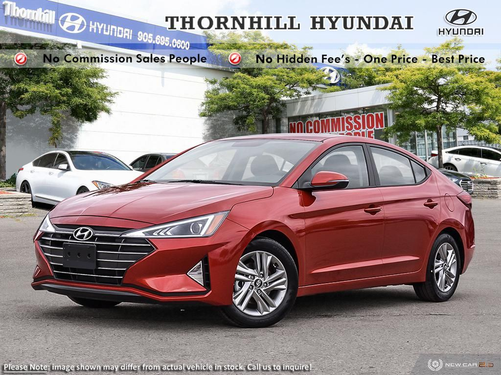 2019 Hyundai Elantra Preferred  AT  - Heated Seats