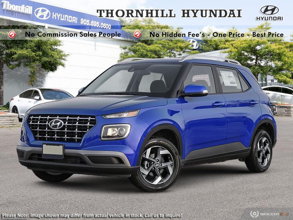 2020 Hyundai Venue Ultimate Interior CP