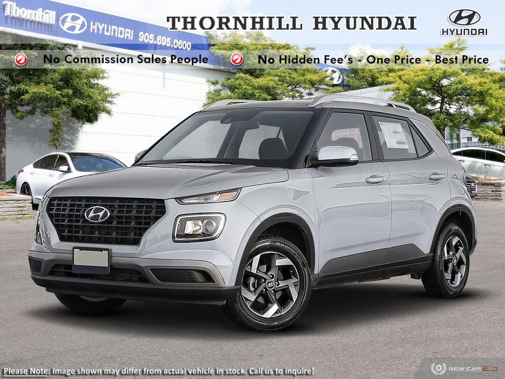 2020 Hyundai Venue Trend Urban Black  - Sunroof