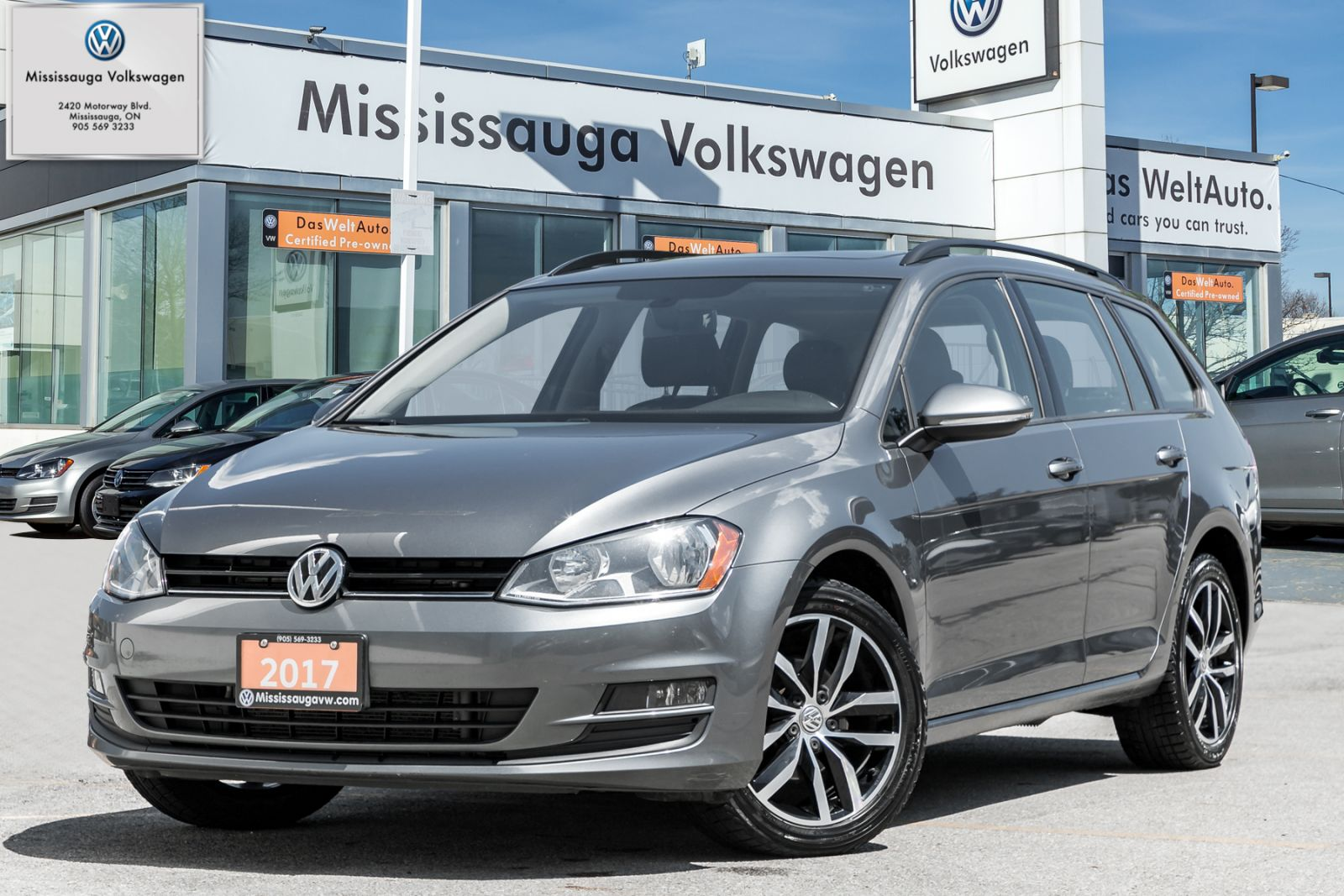 2017 Volkswagen Golf SportWagen 4dr Auto 1.8 TSI Comfortline FWD
