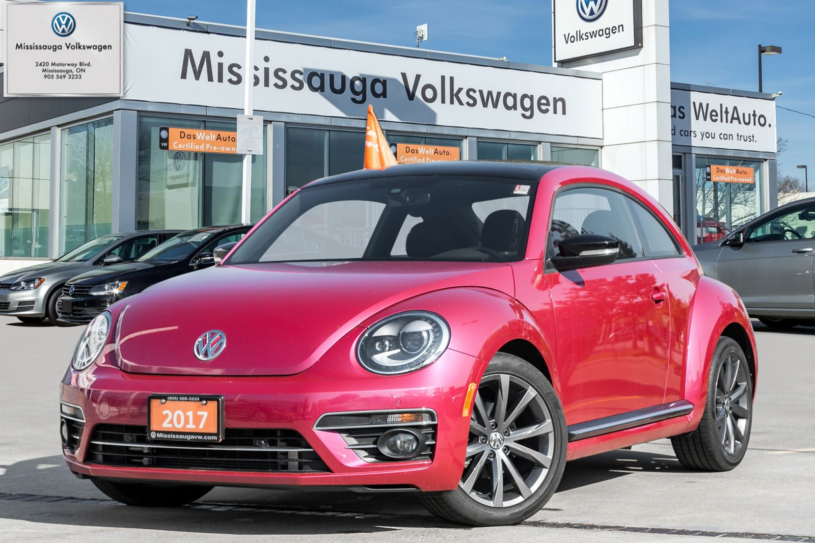 2017 Volkswagen Beetle Coupe Image