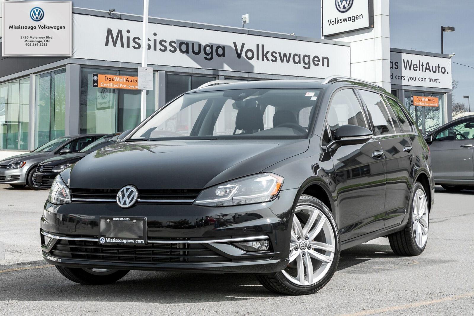 2018 Volkswagen Golf SportWagen Image