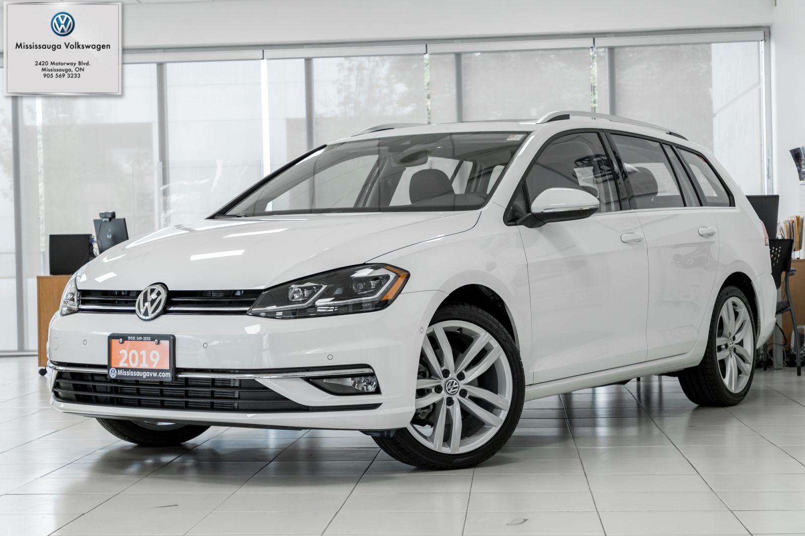 2019 Volkswagen Golf SportWagen Image