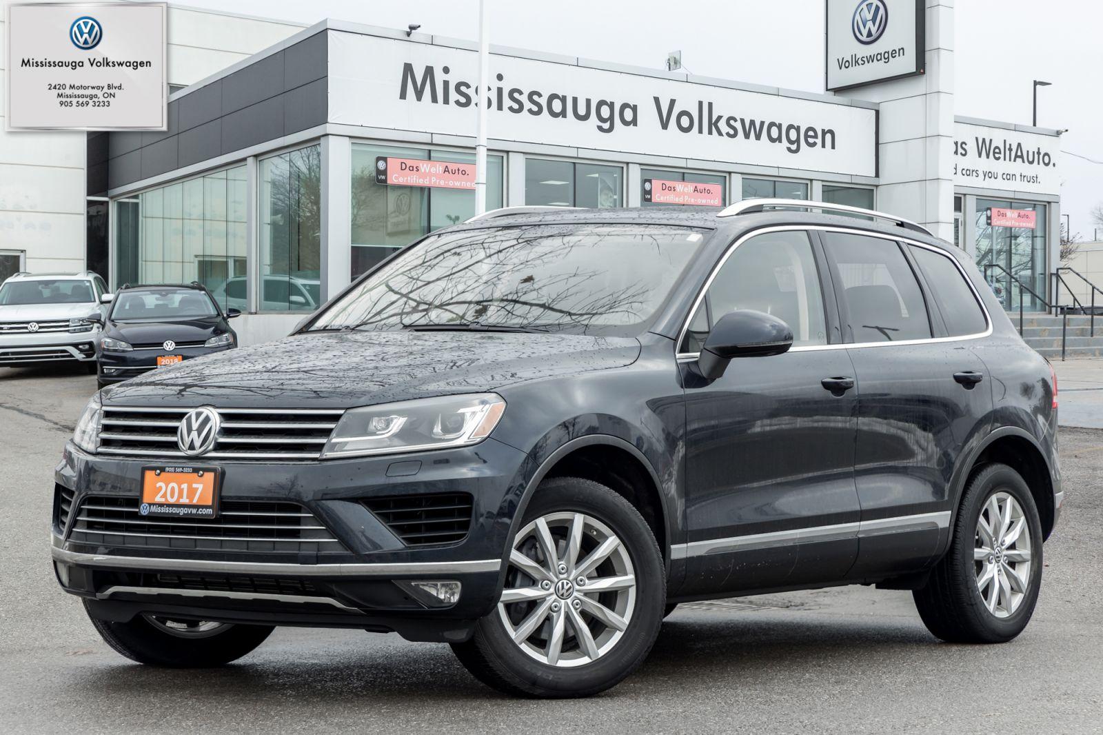 2017 Volkswagen Touareg Image