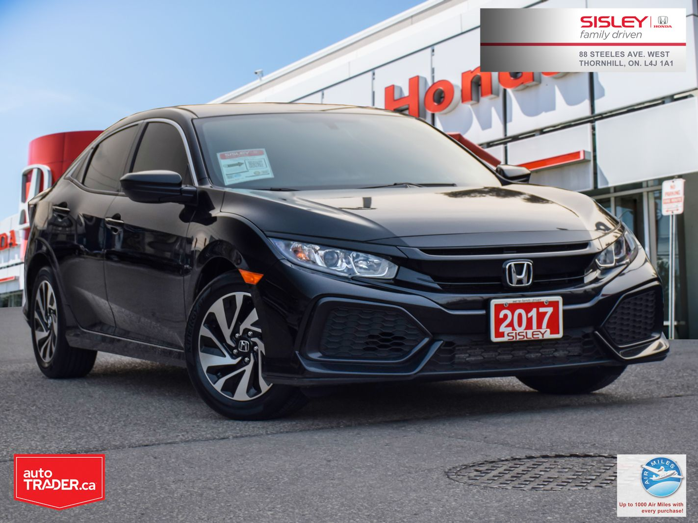 2017 Honda Civic Hatchback Image